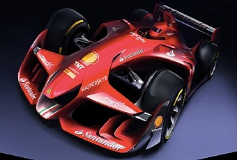 法拉利的概念F1赛车能成为现实吗?