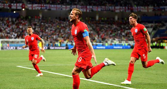 英格兰2-1突尼斯:三狮军团利用身后打击与传跑求快的优势