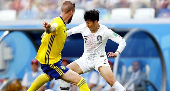 瑞典1-0韩国:众志成城的亚洲红魔,最终还是输了身体
